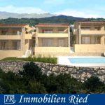 Wunderschöne EG-Wohnung (Neubau) in San Zeno am Gardasee mit großer Terrasse, Garten und Seeblick