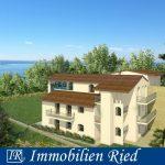 3-Zimmer-OG-Wohnung (Neubau) mit Seeblick und großer Dachterrasse in Toscolano-Maderno am Gardasee