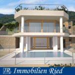 Villa (Neubau) mit Pool und Seeblick in unverbaubarer Bestlage in San Zeno am Gardasee