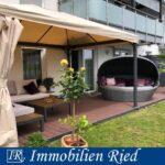 Eine Wohnung zum Verlieben! Exklusive und moderne 3-Zimmer-Gartenwohnung in Manching!